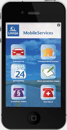 uniqa konzernbericht 2010 uniqa qualitätspartnerschaft  uniqa erweitert unwetterwarnservice um hochwasserinformationen per sms #2